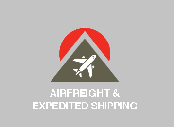 Airfrieght Expedited Shipping, Support, Onsite Handling
